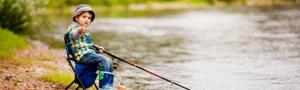 Как выбрать рыболовное снаряжение для детей